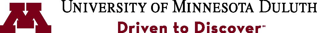University of Minnesota Duluth block M and wordmark