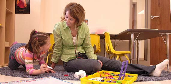UMD Children's Place now provides daycare for infants through five-year-olds.