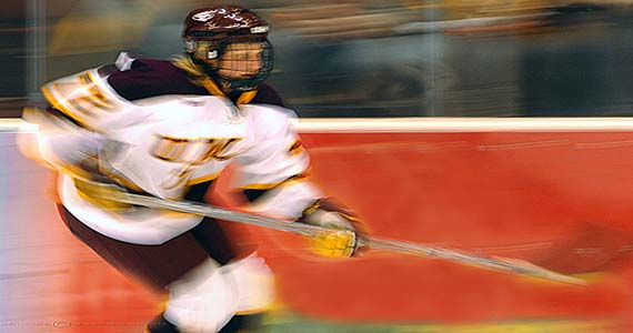 The UMD women's hockey team captured the second place spot in NCAA's 2007 National Championship.