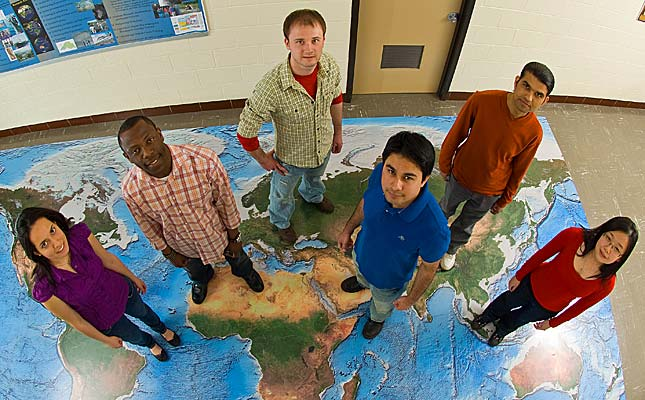 UMD hosted 246 international students from nearly 40 countries in the 2009-2010 school year.