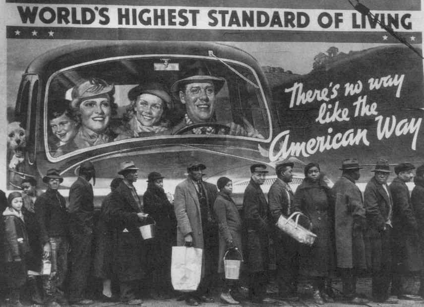 the negative and positive changes in the 1920s in america A tide of economic and social change swept across the country in the 1920s   as the economy boomed, wages rose for most americans and prices fell,.