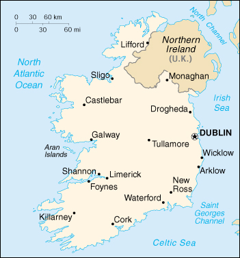 Map Of Ireland Islands.Anthropology Of Europe University Of Minnesota Duluth