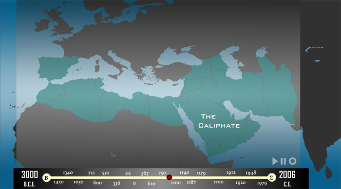 Map of The Caliphate