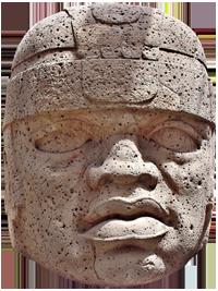 Cabeza Colosal nº1 del Museo Xalapa, San Lorenzo (Wikipedia)