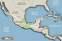 Cortes' Route into Mexico