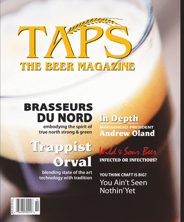 TAPS Magazine, Winter 2012 cover