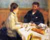 Pierre Auguste Renoir,  Le dejeuner, 1879.