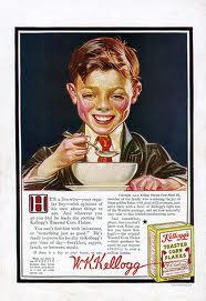 Vintage Kellog's Corn Flakes Ad