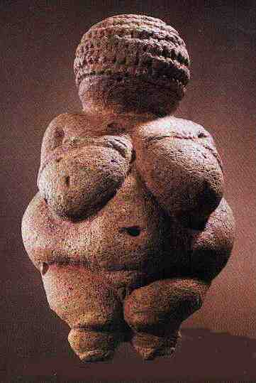 Venus of Willendorf · Prehistoric Fighting Rhinoceroses