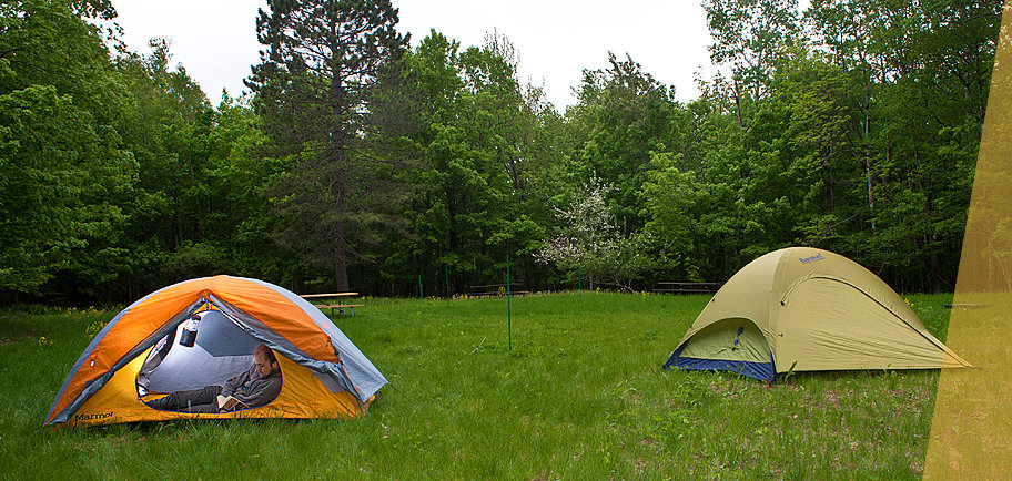 UMD's Bagley Nature Area Campground