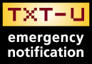 TXT-U Emergency Notification