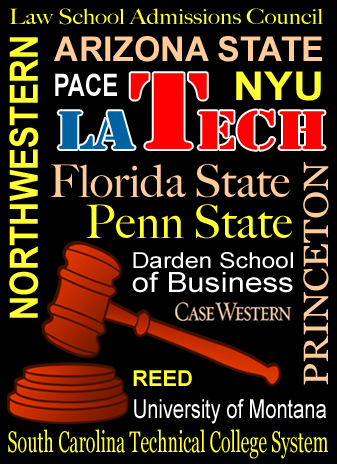 Collage of Universities that have faced litigation
