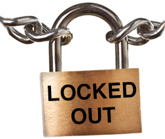 Photo: Locked Out