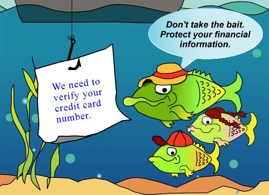Phishing Cartoon