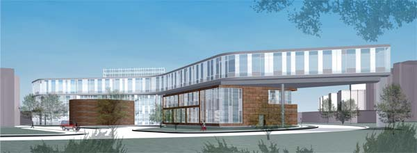 Architect rendering of Labovitz building.