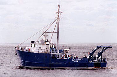 Blue Heron research vessel.