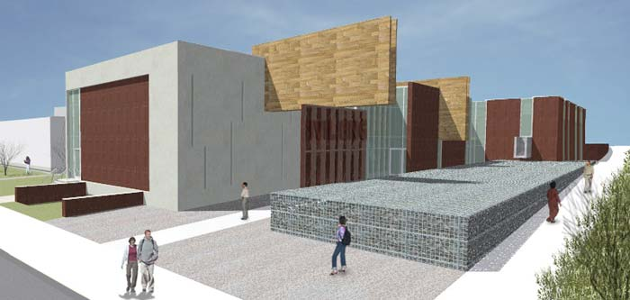 Artist rendering of new Civil Engineering Building.