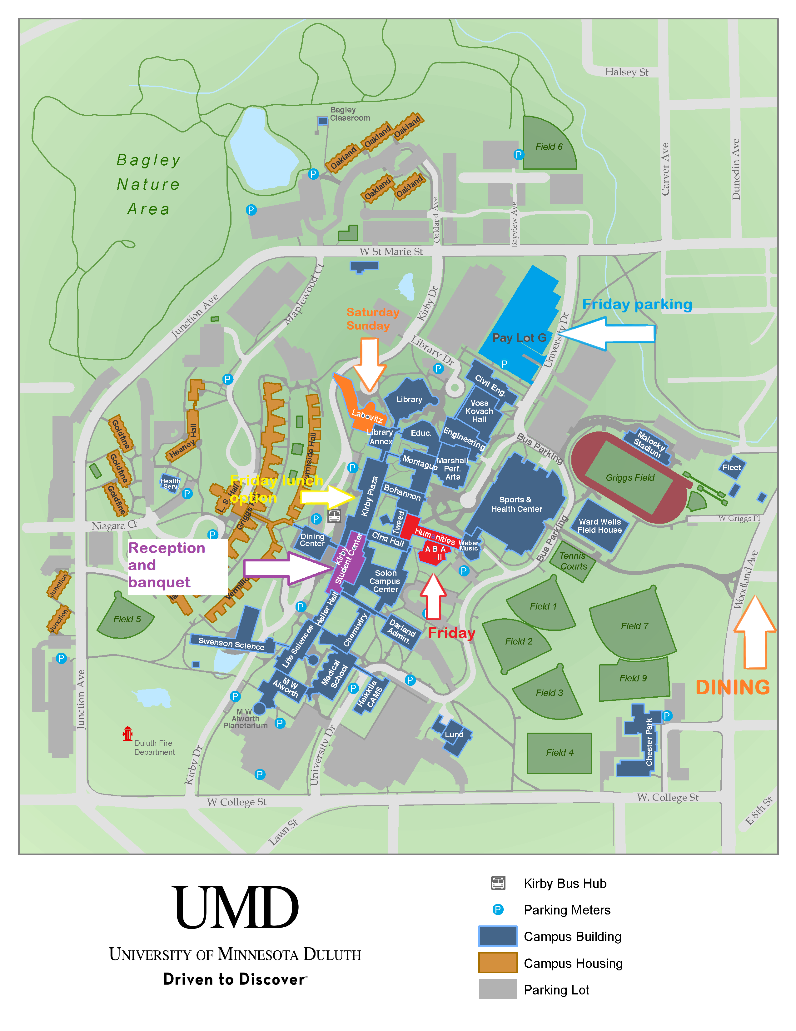 um duluth campus map Umd Campus Swenson College Of Science And Engineering Umn Duluth