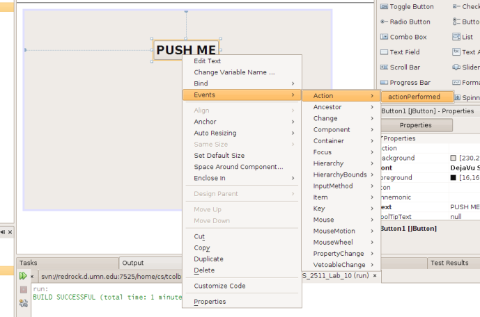 Getting to Know the NetBeans GUI Builder