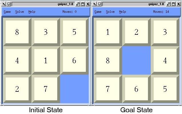 8 Puzzle Background
