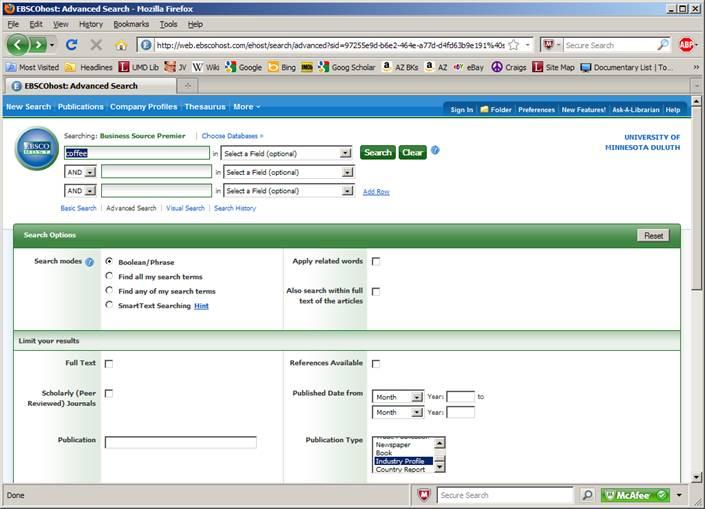Datamonitor Screenshots
