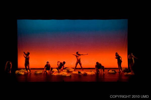 Umd Theatre Action Reaction Dance Concert