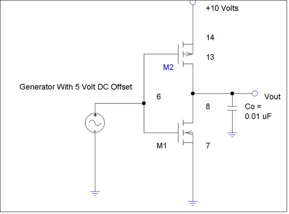 basic mosfet amplifier and cmos inverter Simple schemes to generate the gate control voltages for the mos transistors  cmos inverters can be used as compact high-gain amplifiers and compara.