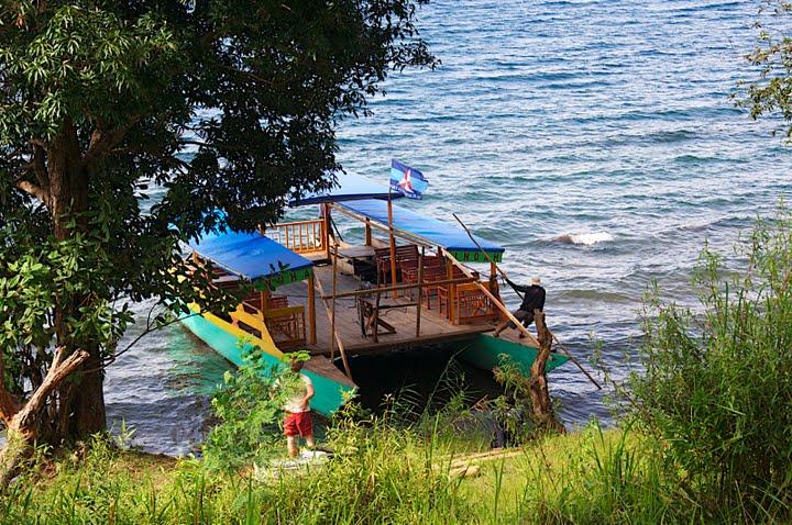 Boat on Matano