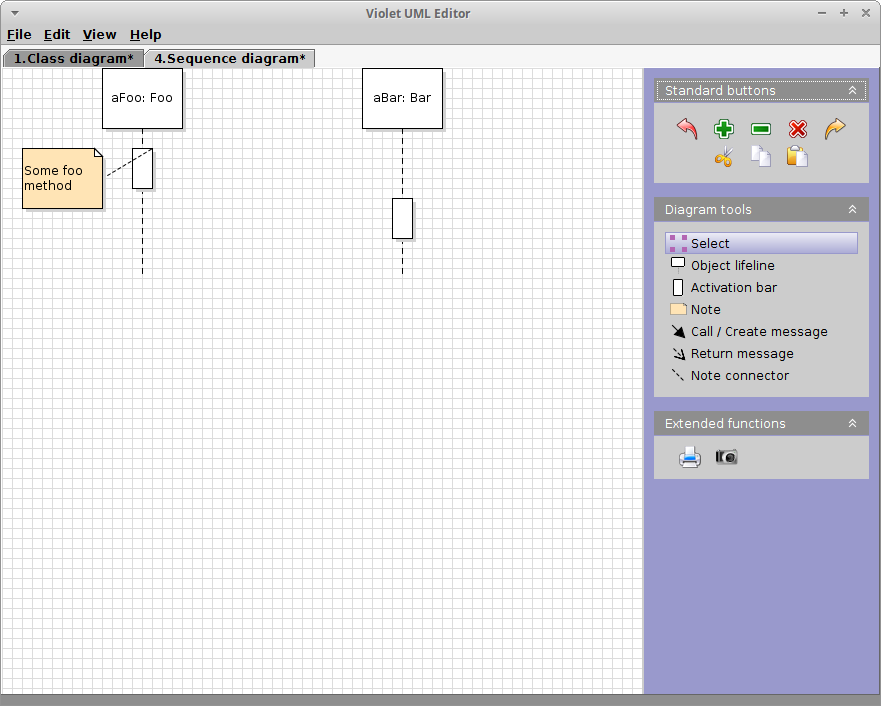 Sequence Diagram Tool | Cs 2511 Lab Exercise